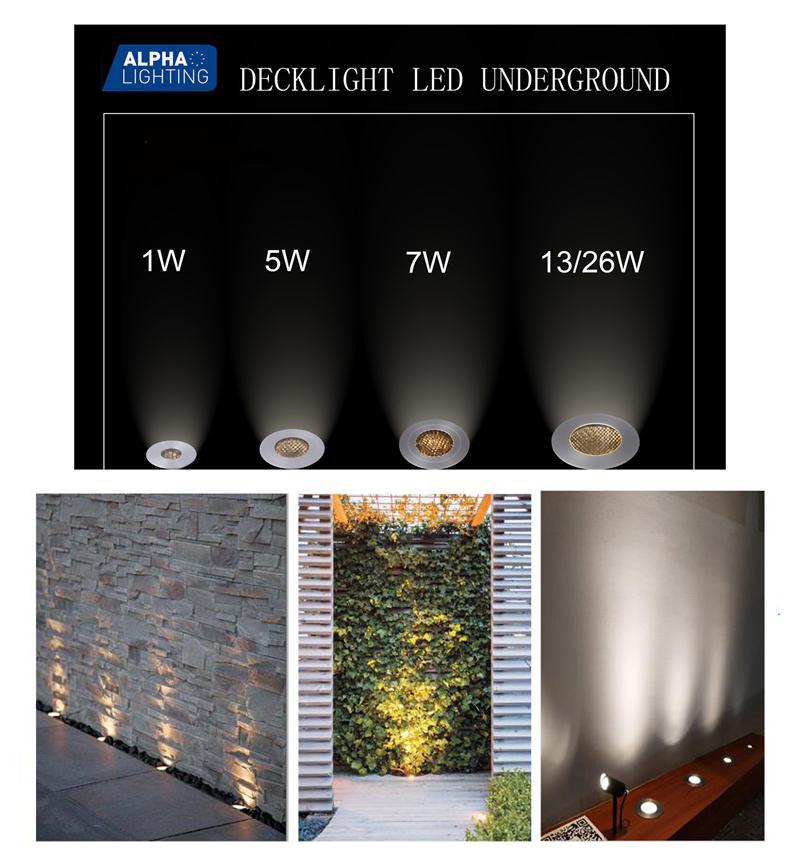 outdoor IP67 Underground light