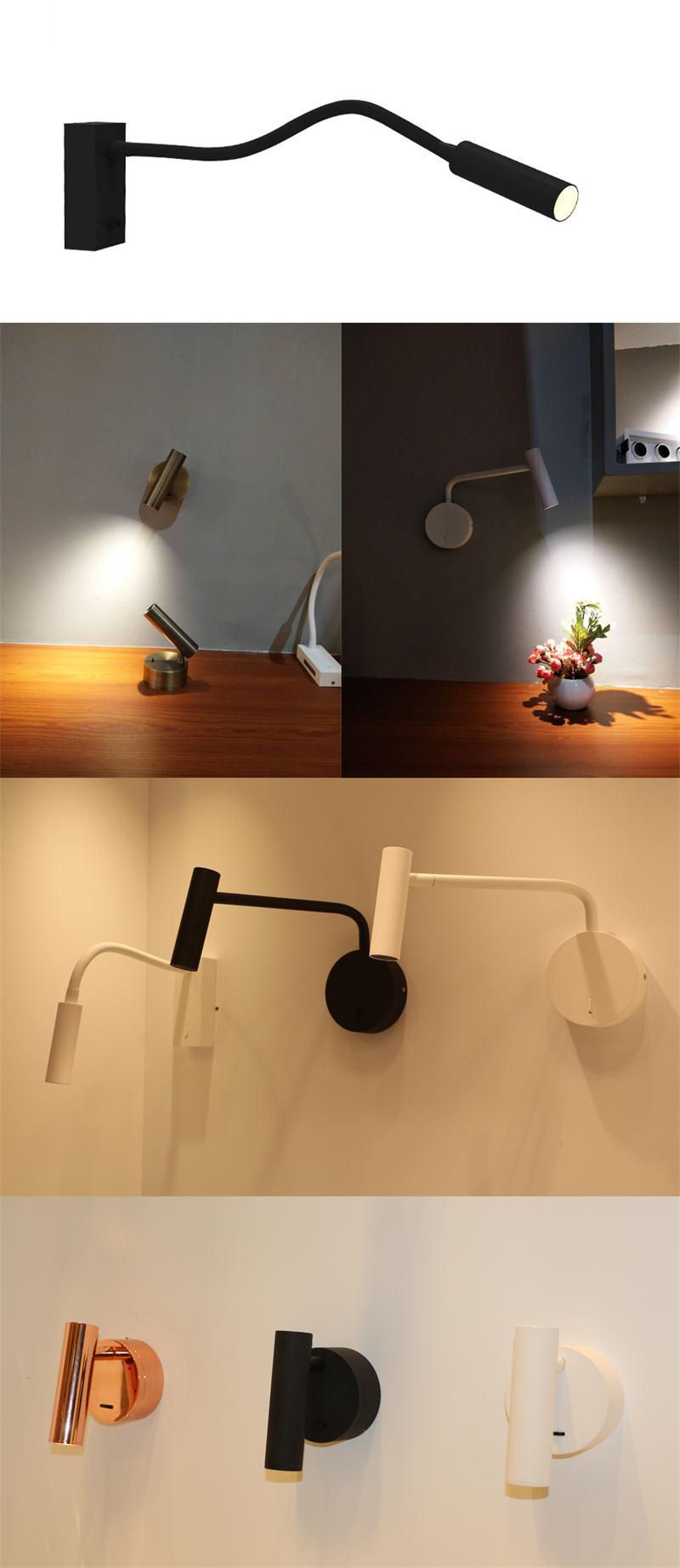 3W Bedroom Reading Lamp