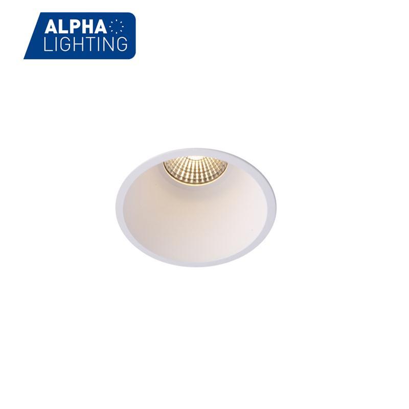 10W Trimless anti-glare deep recessed cob led downlight