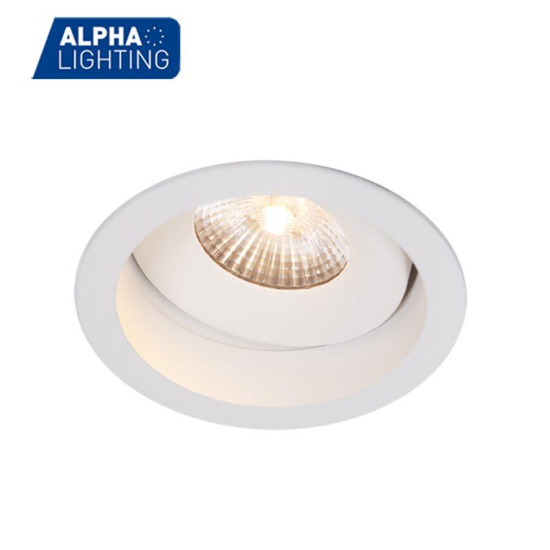 Adjustable IP54 waterproof led downlight