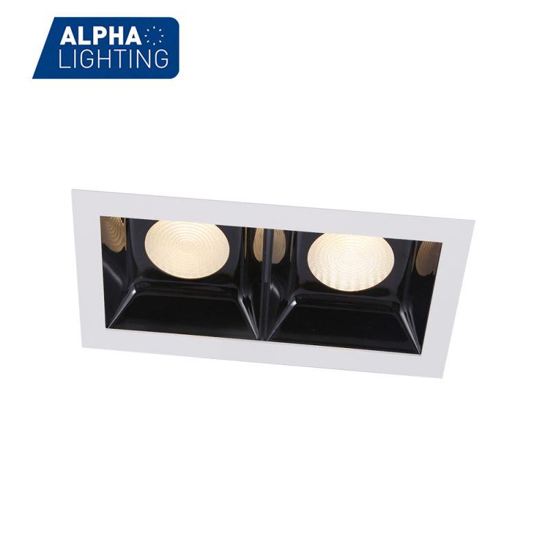 Black reflector high bightness led downlight