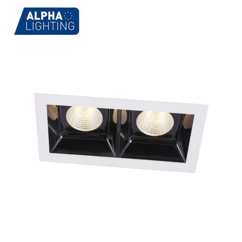 Anti-glare double brightness linear light