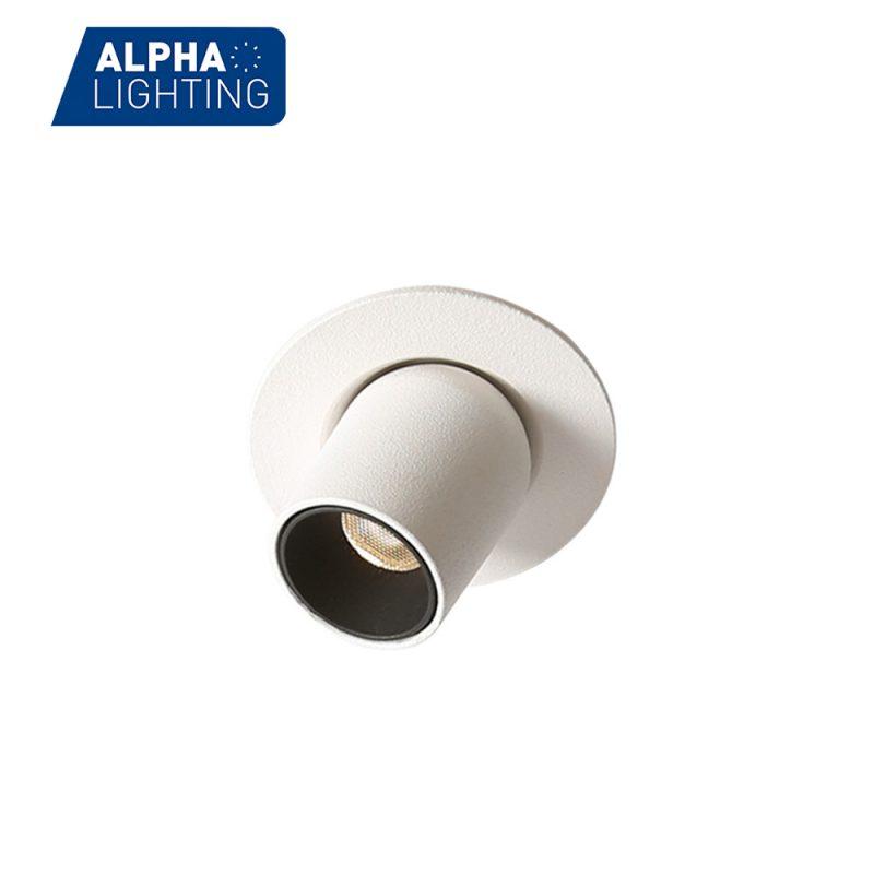 Mini adjustable led tube spotlight
