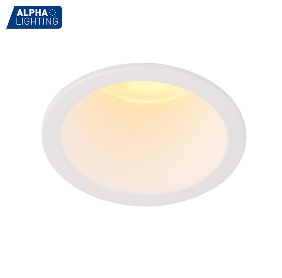 IP20 Waterproof lamp 5w led cob ceiling recessed downlight