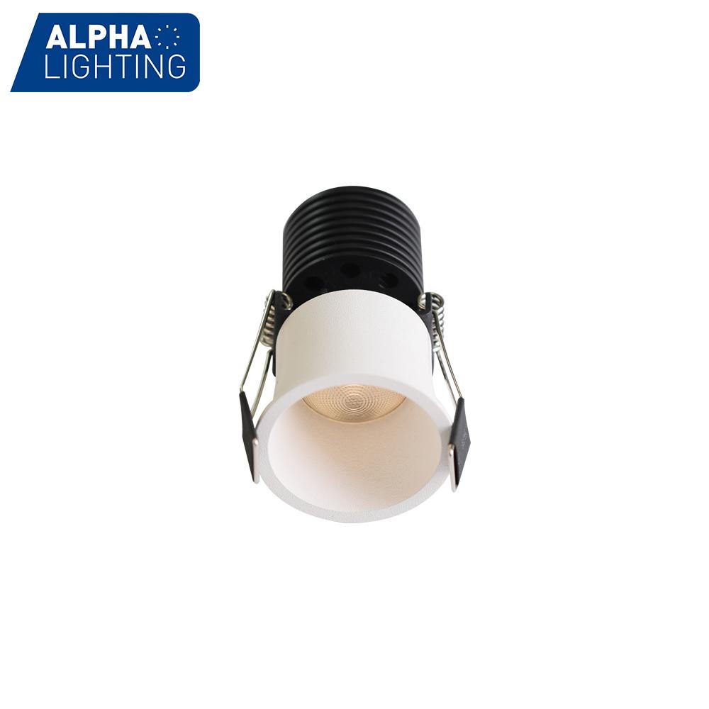 Small Trim Ceiling Recessed 7W COB Indoor LED Downlight