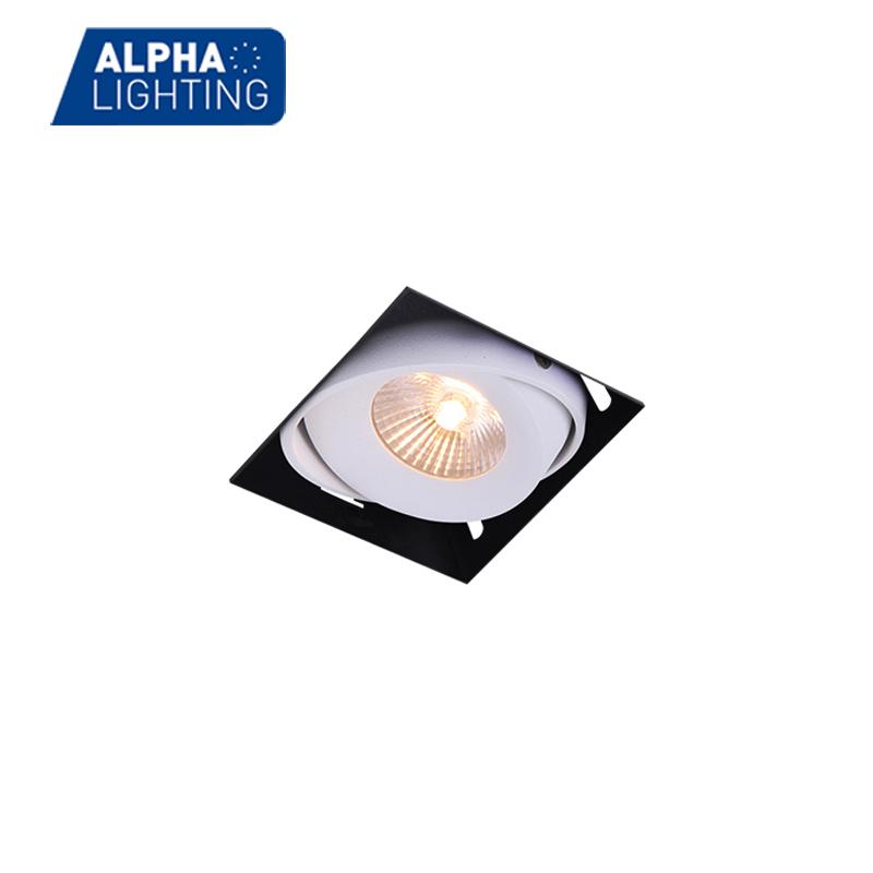 Alpha Lighting waterproof led light square recessed downlights-ALDL0156
