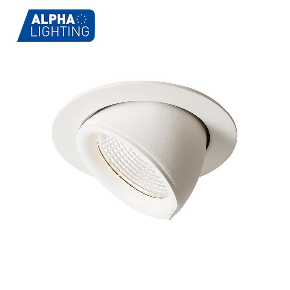Commercial lighting COB ceiling recessed adjustable downlight -ALDL0074