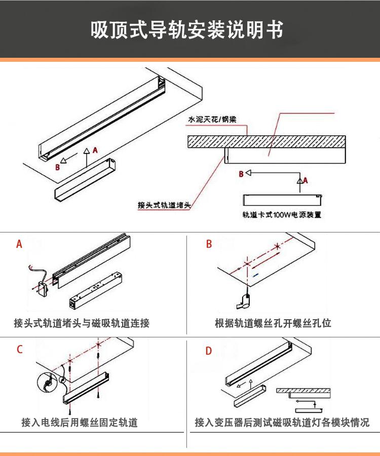 magnetic track light