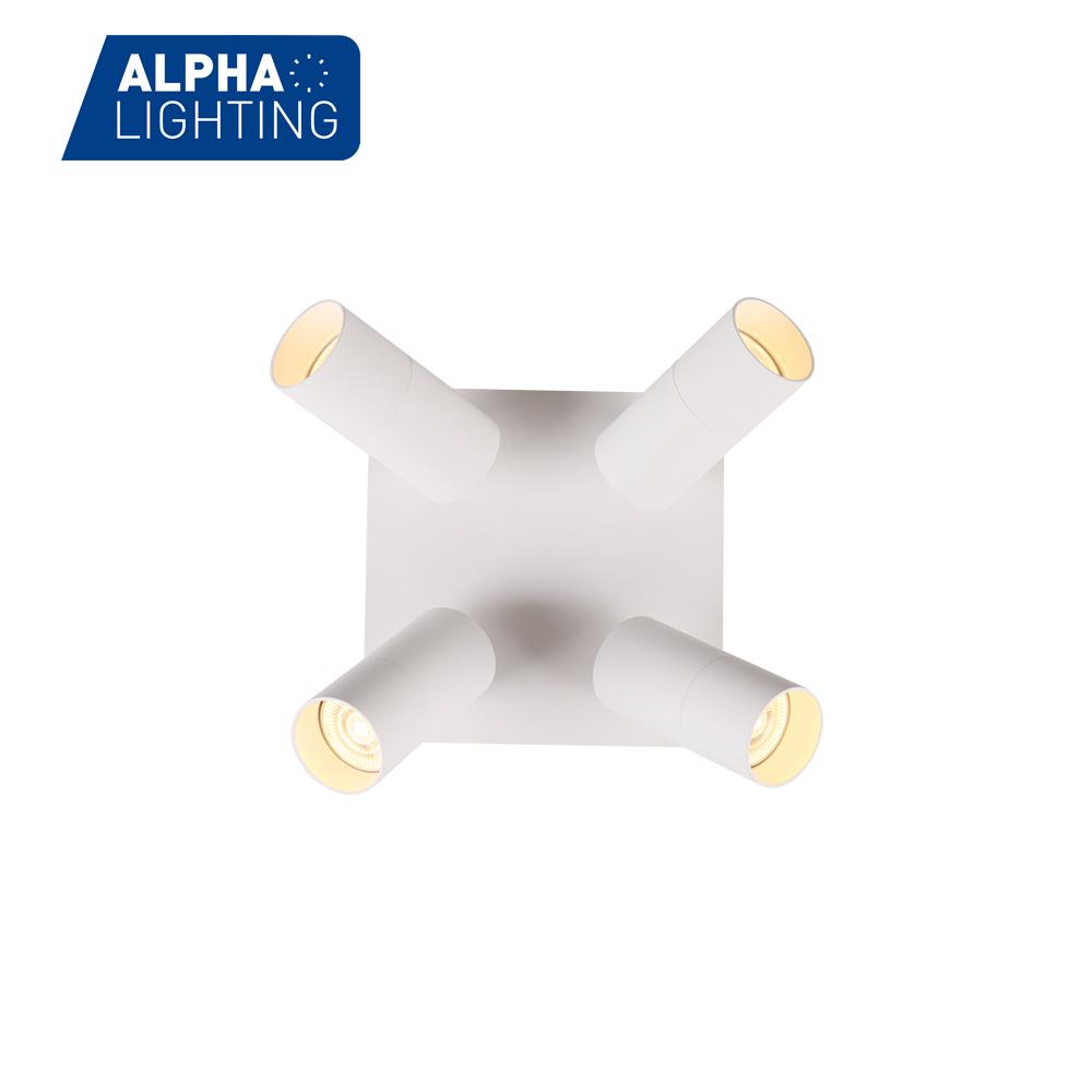4 head Aluminum Alloy GU10 Indoor surface mounted light