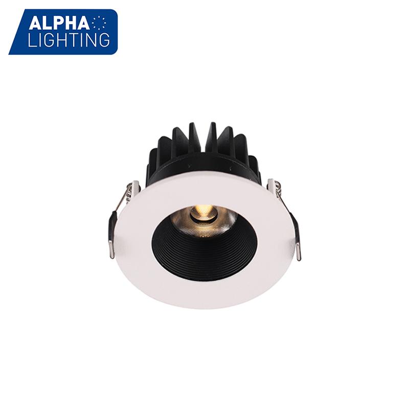 Round  Anti-glare  Recessed LED 7W Indoor Downlight