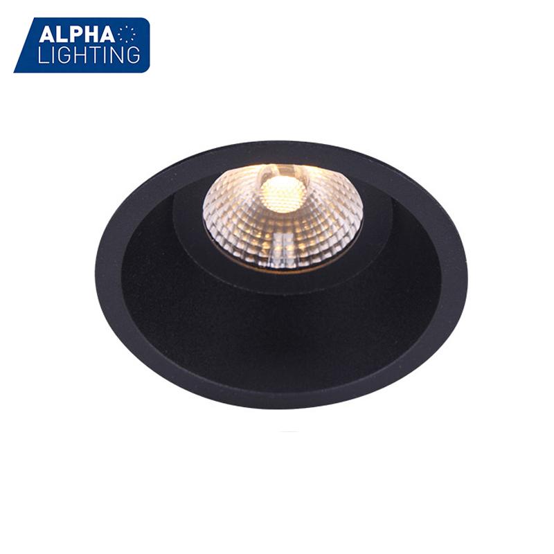 round recessed indoor downlight