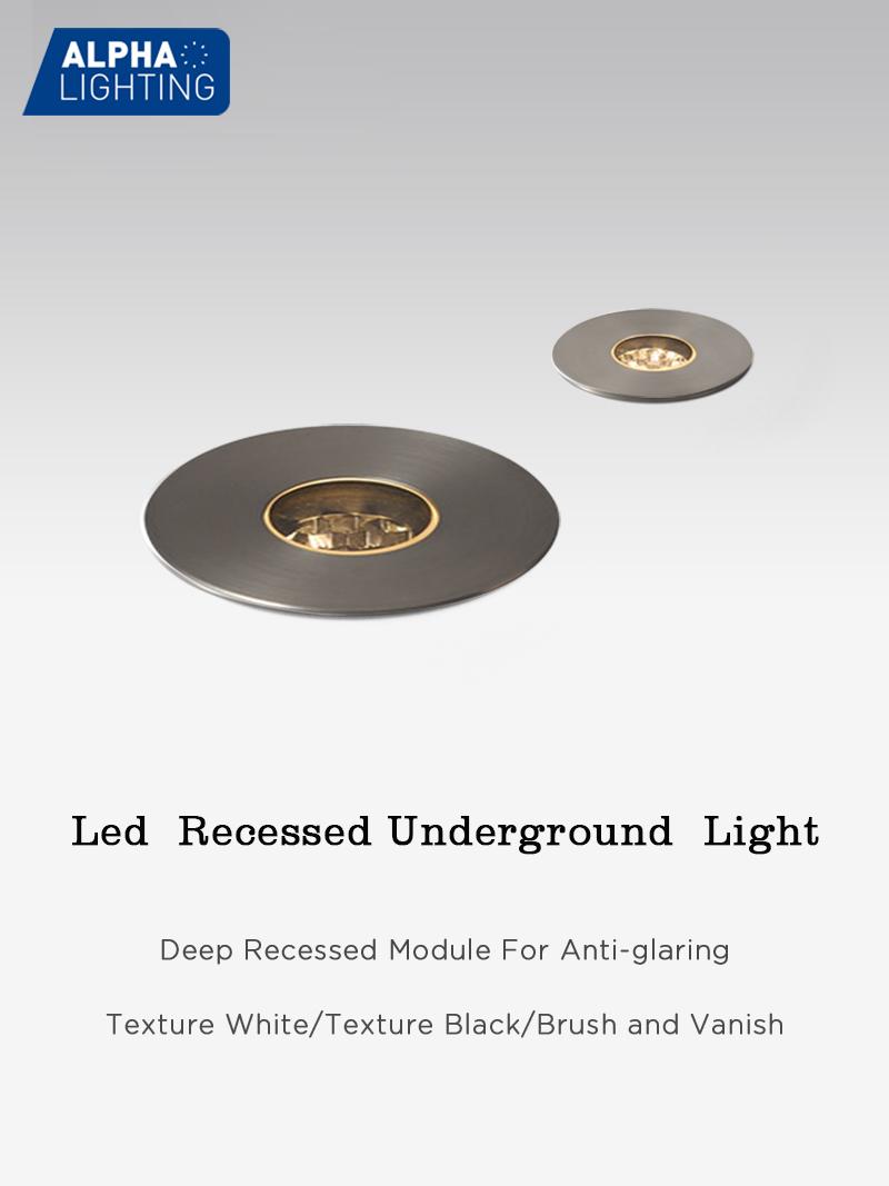 IP67 Waterproof Garden Led Recessed Underground Deck Lighting