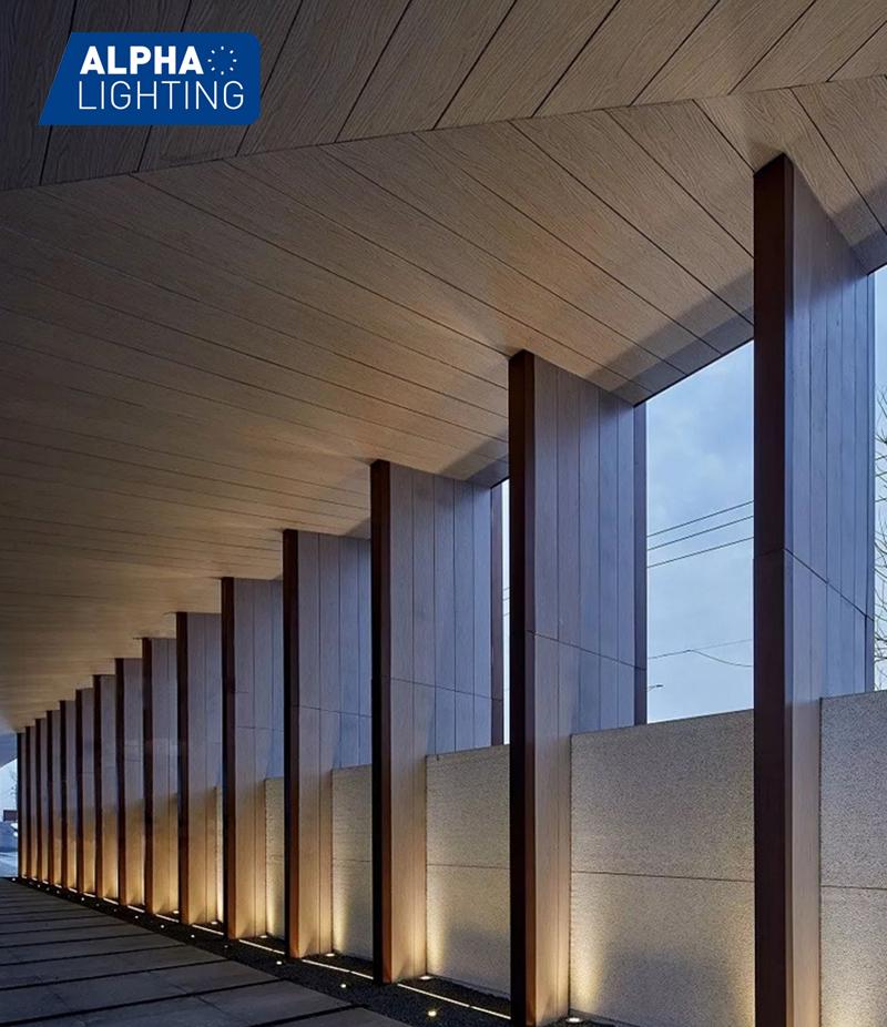 Recessed Underground Deck Lighting
