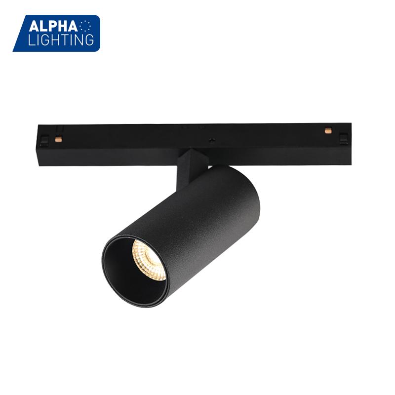 DC 48V high quality 7w anti-glare magnetic track light